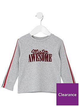 river-island-mini-boys-039mister-awesome039-t-shirt