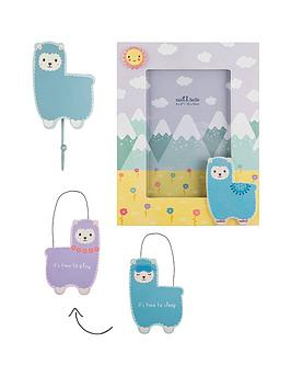 Sass & Belle Sass & Belle Sass And Belle Little Llama Photoframe, Wall  ... Picture