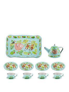 Sass & Belle Sass & Belle Sass And Belle Sloth Tea Set In A Suitcase Gift Picture