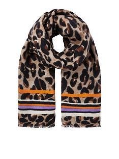 river-island-scarf-leopard-print