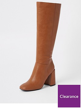 river-island-high-leg-boots-tan