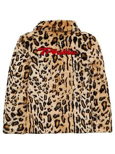 v-by-very-girls-trouble-back-slogan-animal-faux-fur-coat-multi