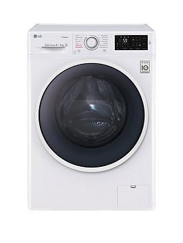 lg-steamtrade-f4j6vg0w-9kgnbspwashnbsp5kgnbspdry-1400-spin-washer-dryer