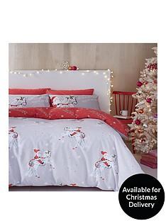 catherine-lansfield-christmas-unicorn-single-duvet-cover-set