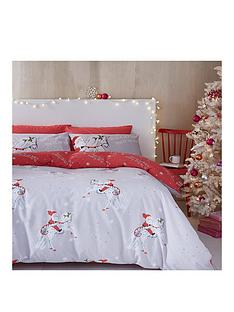 catherine-lansfield-christmas-unicornnbspduvet-cover-set