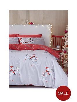 catherine-lansfield-christmas-unicorn-double-duvet-cover-setnbsp