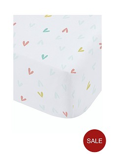 catherine-lansfield-little-birds-easy-care-single-fitted-sheet