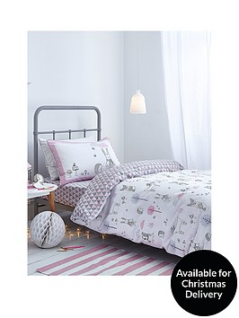 catherine-lansfield-nordic-cotton-print-double-duvet-cover-set