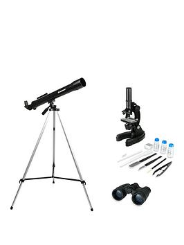 Celestron   Telescope, Binocular &Amp; Microscope Kit