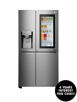 lg-lg-instaview-door-in-doortrade-gsx961nsaz-american-style-fridge-freezer-premium-steel