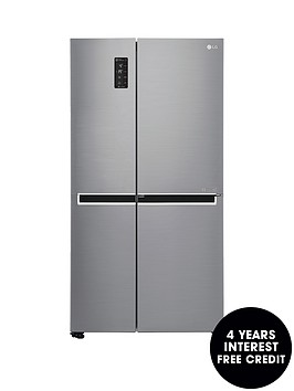 lg-door-in-doortrade-gsm760pzxz-american-style-fridge-freezer-steel