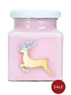 flamingo-candles-reindeer-candle