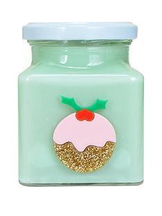 flamingo-candles-christmas-pudding-candle