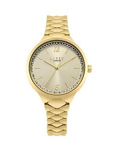 lipsy-lipsy-champagne-and-crystal-set-dial-gold-stainless-steel-bracelet-ladies-watch
