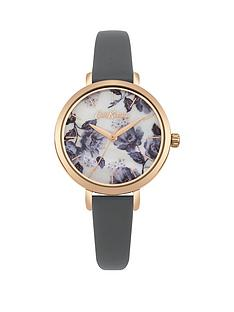 cath-kidston-cath-kdston-mid-wild-poppies-rose-stud-dial-grey-leather-strap-ladies-watch