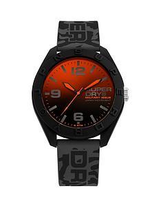 superdry-superdry-orange-to-black-gradiant-dial-black-silicone-strap-mens-watch
