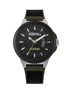 superdry-superdry-black-and-green-detail-dial-black-and-green-silicone-strap-mens-watch