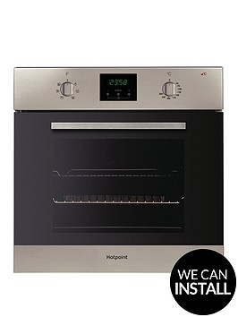 hotpoint-aoy54cix-60cm-built-in-single-electric-oven-with-optional-installation-inox