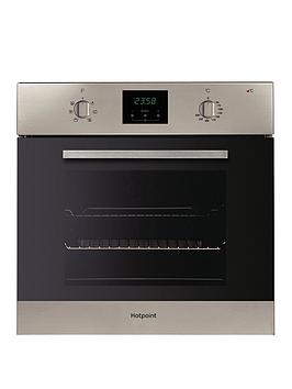 Hotpoint   Aoy54Cix 60Cm Built-In Single Electric Oven - Inox - Oven Only