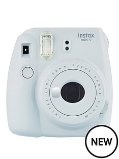 fujifilm-instax-instax-mini-9-instant-camera-with-10-or-30-pack-of-paper--nbspsmoky-white