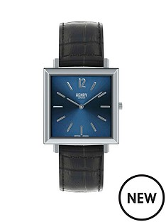 henry-london-heritage-hl34-qm-0267-blue-and-stainless-steel-square-dial-black-leather-strap-mens-watch