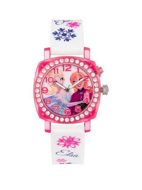 disney-princess-disney-frozen-elsa-and-anna-printed-jewelled-flashing-dial-kids-watch