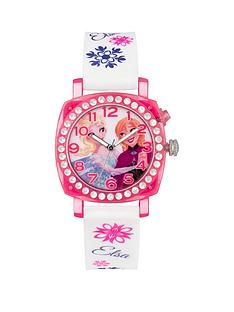disney-princess-disney-frozen-princess-elsa-and-anna-printed-jewelled-flashing-dial-with-white-printed-silicone-strap-kids-watch