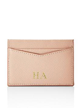 HA Designs Ha Designs Personalised Initial Blush Card Holder Picture