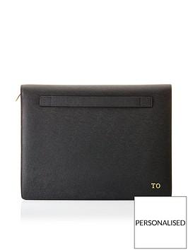 ha-designs-personalised-initials-black-a4-document-holder