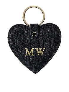 ha-designs-personalised-initial-black-keyring