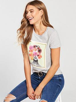 v-by-very-flower-head-t-shirt