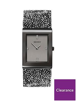 seksy-seksy-rocks-light-grey-and-dark-grey-crystal-set-rectangular-dial-dark-grey-rocks-strap-ladies-watch