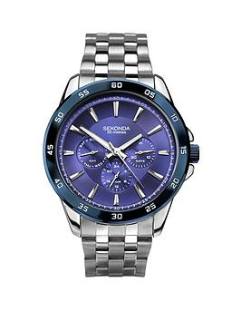 sekonda-sekonda-blue-multi-dial-stainless-steel-bracelet-mens-watch