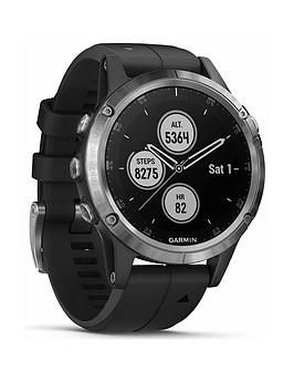 garmin-fenix-5-plus-silver-with-black-band