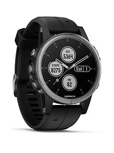garmin-fenix-5s-plus-silver-with-black-band