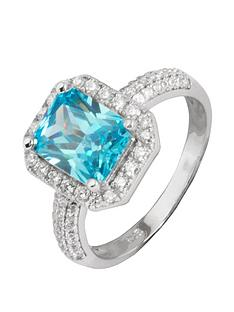 love-gem-sterling-silver-aqua-cubic-zirconia-rectangular-halo-solitaire-ring