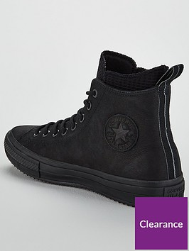 4af8c37d28c0 ... Converse Chuck Taylor All Star Utility Draft Boots - Black. View larger