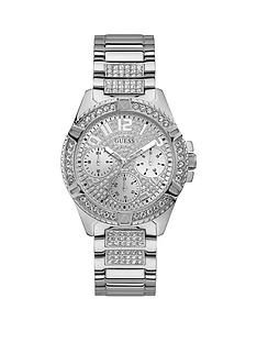 guess-guess-lady-frontier-silver-crystal-set-multi-dial-stainless-steel-bracelet-ladies-watch