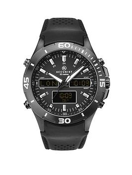 accurist-black-world-time-analogue-and-digital-dial-black-leather-strap-mens-watch