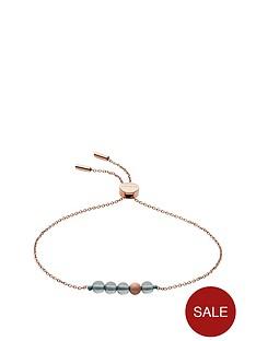 skagen-skagen-stainless-steel-rose-gold-and-green-chain-slider-bracelet