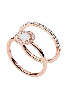 fossil-fossil-classics-rose-gold-and-white-glitz-stacking-ring