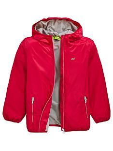 regatta-girls-waterproof-lever-ii-jacket-pink