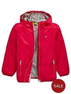 regatta-girls-waterproof-lever-ii-jacket-pink