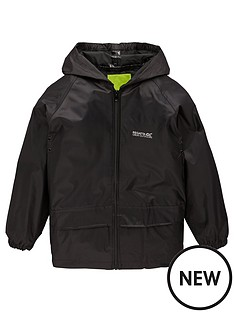 regatta-boys-stormbreak-jacket-black