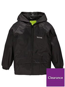 regatta-boys-stormbreak-jacket-black