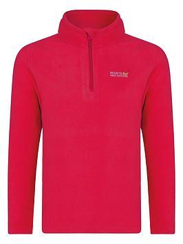 regatta-girls-hot-shot-overhead-fleece-pink