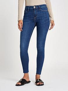 river-island-molly-long-leg-jeans-blue