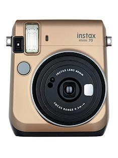 fujifilm-instax-mini-70-instant-camera-with-10-or-30-pack-of-paper--nbspgold