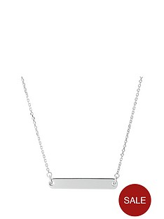 links-of-london-links-of-london-narrative-sterling-silver-bar-pendant-necklace