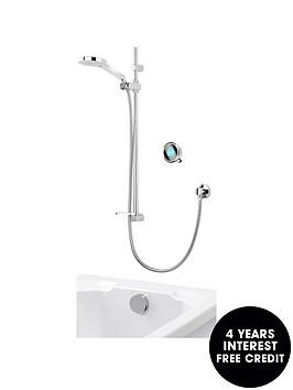aqualisa-q-smart-shower-with-adjustable-head-and-bath-overflow-filler-ndash-hpcombi